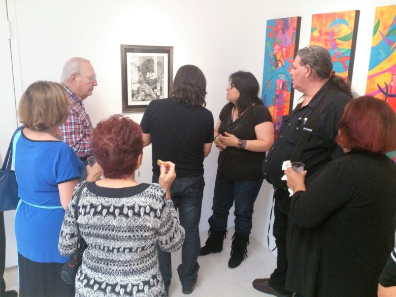 Artist Evelyn Miranda talks about her work.jpg